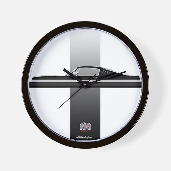 Mustang Plain Wall Clock