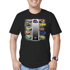 Stang 45 Men's Fitted T-Shirt (dark)