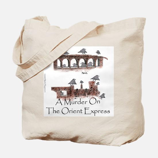A Murder on the Orient Express Tote Bag