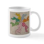 7 Pastel Dsncers Mugs