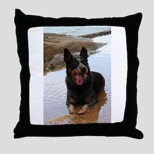 AuCaDo Throw Pillow