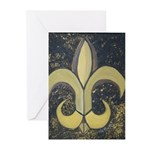 Black & Gold Greeting Cards (Pk of 20)