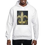 Black & Gold Hooded Sweatshirt