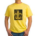 Black & Gold Yellow T-Shirt
