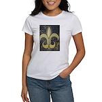 Black & Gold Women's T-Shirt