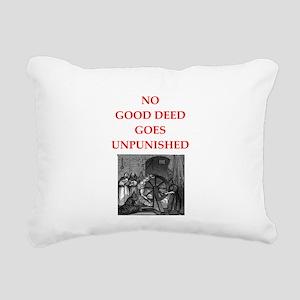 good deed Rectangular Canvas Pillow