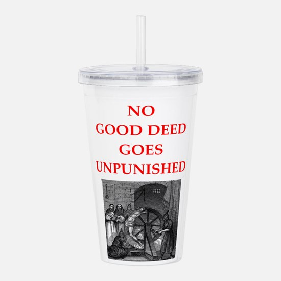 good deed Acrylic Double-wall Tumbler