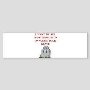grave Bumper Sticker