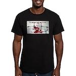 The Beginning Men's Fitted T-Shirt (dark)