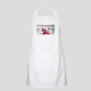 The Beginning Apron