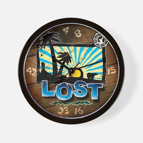 Lost 'Vintage' Wall Clock