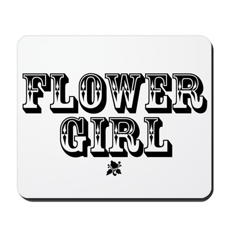 Flower Girl - Old West Mousepad