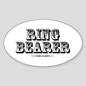 Ringbearer - Old West Sticker (Oval)