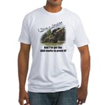Skid Marks Fitted T-Shirt