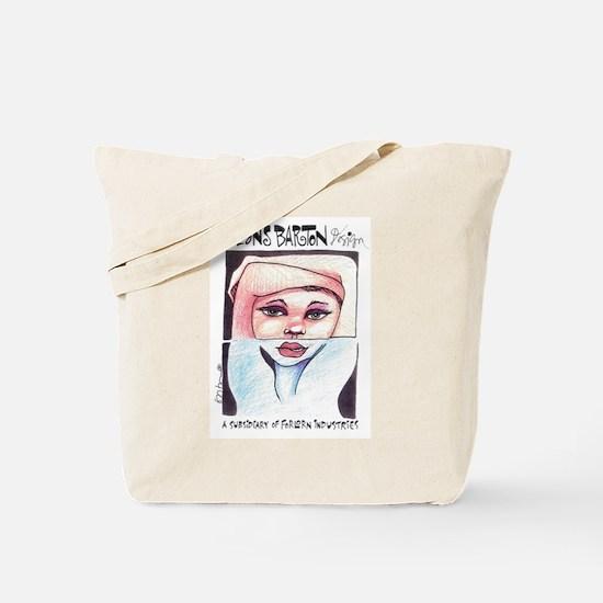 Beans Barton Design Tote Bag