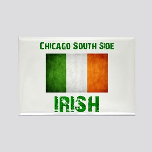 Chicago Irish Flag Rectangle Magnet