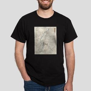 Vintage Albuquerque New Mexico Topographic T-Shirt