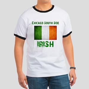 Chicago Irish Flag Ringer T