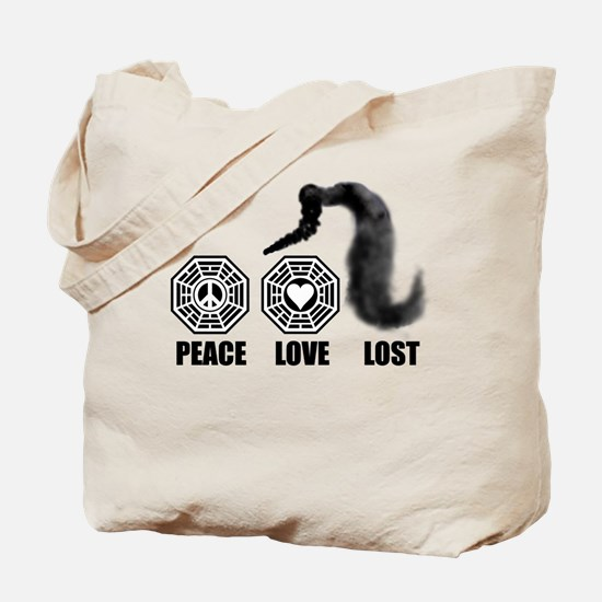 PEACE LOVE LOST Tote Bag