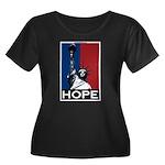 Liberty is Hope Women's Plus Size Scoop Neck Dark
