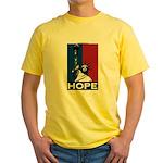 Liberty is Hope Yellow T-Shirt