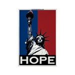 Liberty is Hope Rectangle Magnet (100 pack)