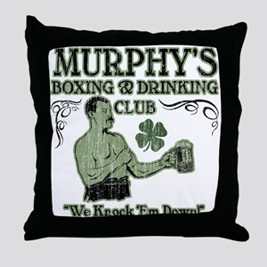 Murphy's Club Throw Pillow