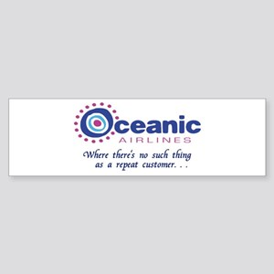 'Oceanic Airlines' Sticker (Bumper)