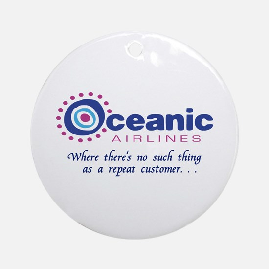'Oceanic Airlines' Ornament (Round)