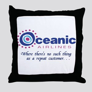 'Oceanic Airlines' Throw Pillow