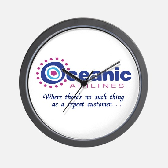 'Oceanic Airlines' Wall Clock