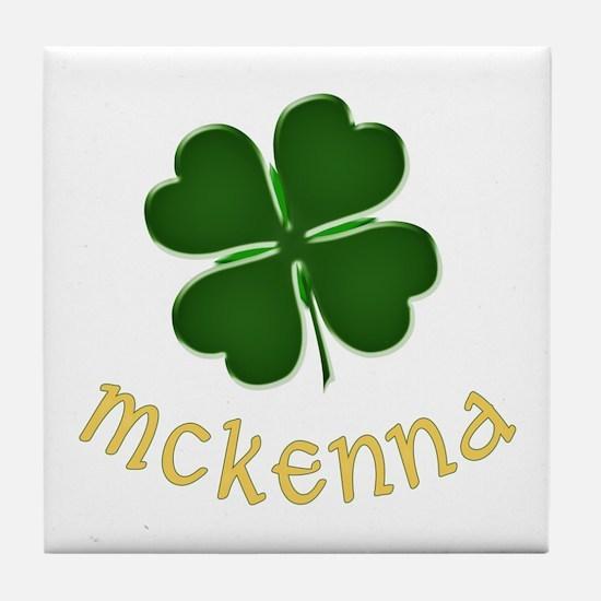 McKenna Irish Tile Coaster