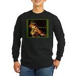 The Irish Fiddler Long Sleeve Dark T-Shirt