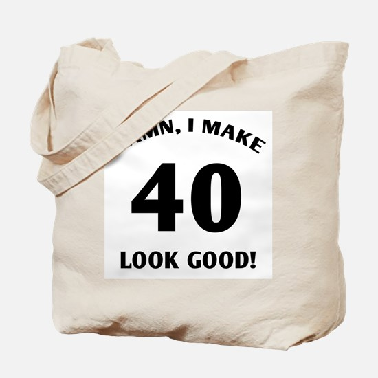 40 Yr Old Gag Gift Tote Bag