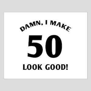 50 Yr Old Gag Gift Small Poster