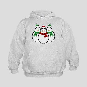 Christmas Penguins Kids Hoodie