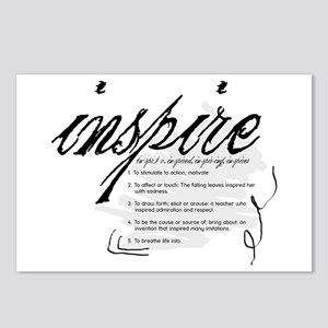 Inspire Postcards (Package of 8)
