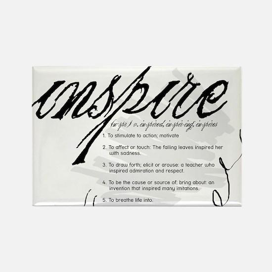 Inspire Rectangle Magnet (10 pack)