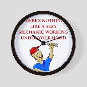 mechanic Wall Clock