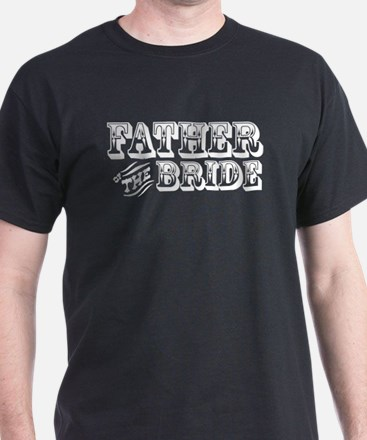 Father of the Bride - Old West T-Shirt