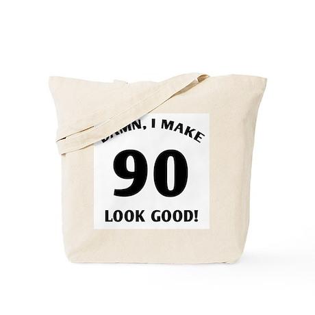 90 Yr Old Gag Gift Tote Bag