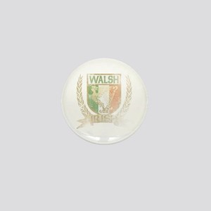 Walsh Irish Crest Mini Button