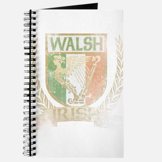 Walsh Irish Crest Journal