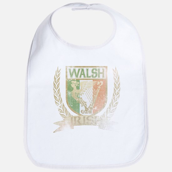 Walsh Irish Crest Bib