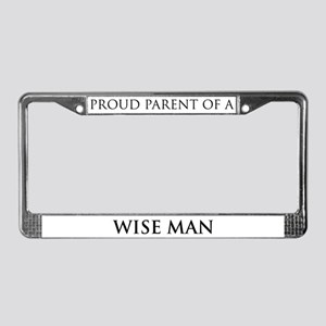 Proud Parent: Wise Man License Plate Frame