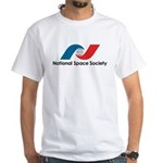 National Space Society White T-Shirt