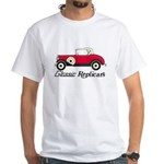 White T-Shirt - Roadster