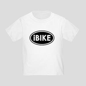 I Bike (Black) Toddler T-Shirt