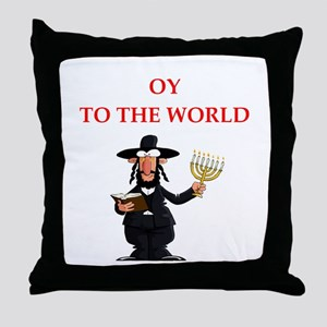 Funny joke on gifts and t-shirts. Throw Pillow