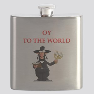 Funny joke on gifts and t-shirts. Flask
